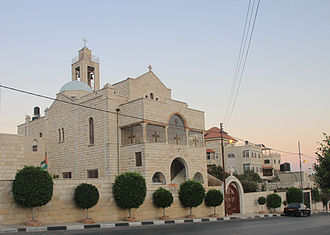 Taybeh - Taybeh church, 2010