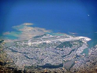 Naha Airport - Aerial view of Naha Airport
