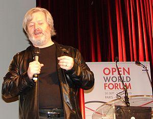 Simon Phipps (programmer) - Simon Phipps at Open World Forum, Paris, 30 September 2010.