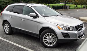 2010 Volvo XC60 photographed in College Park, ...