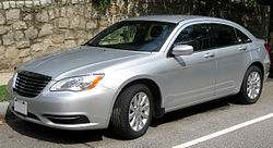 2011 Chrysler 200 sedan -- 06-20-2011.jpg