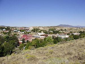 Eureka, Nevada - Image: 2013 09 19 09 56 20 View of downtown Eureka, Nevada
