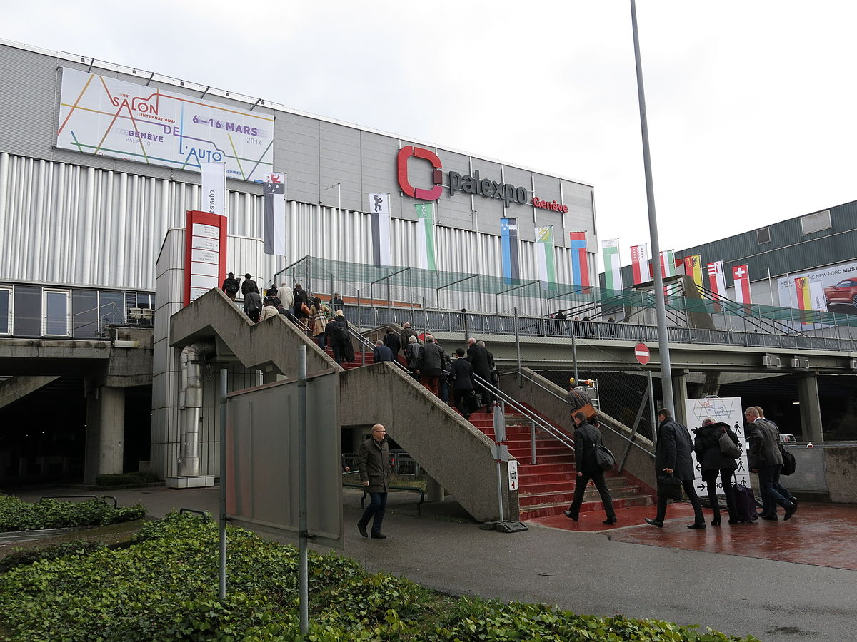 Salon international de l 39 automobile de gen ve 2015 wikip dia - Billet salon de l auto geneve ...