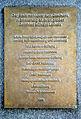 2014-06-02 Gottfried Wilhelm Leibniz, Tafel am Denkmal, der Stadt Hannover zum Geschenk, Stiftungsgeber.JPG