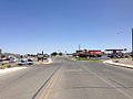 2014-06-12 11 49 00 View north at the northern terminus of Nevada State Route 294 (Haskell Street) at Nevada State Route 794 (East Winnemucca Boulevard) in Winnemucca, Nevada.JPG