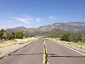 2014-07-17 09 43 04 View west along U.S. Route 6 about 128 miles east of the Esmeralda County Line in Nye County, Nevada.JPG
