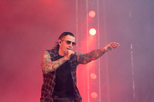 20140615-145-Nova Rock 2014-Avenged Sevenfold-M Shadows