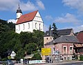 20140624040DR Tharandt Bergkirche + Deutsches Haus 03.jpg