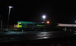 2014 Taunton track renewals - Freightliner 66596.JPG
