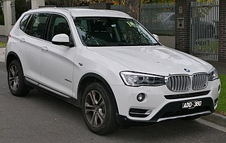 BMW X3 - Image: 2015 BMW X3 (F25 LCI) x Drive 20d wagon (2015 06 27)