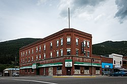 The Cosmopolitan Hotel and Bar in Blairmore