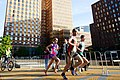 20161016 Amsterdam Marathon - Ruth van der Meijden op de zuidas.jpg