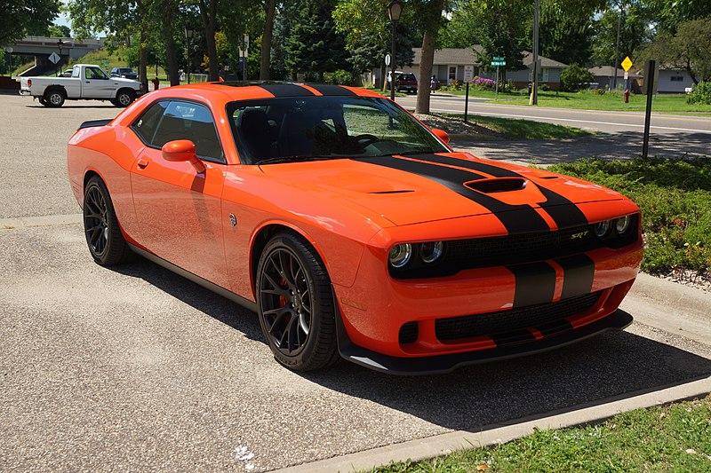 File:2016 Dodge Challenger Hellcat (28456827004).jpg