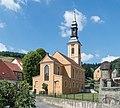 2016 Srebrna Góra, kościół ewangelicki 1.jpg