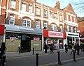 2016 Woolwich, Powis Street shops 03.jpg