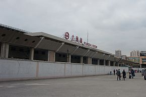 201701 Station building for L3,4 of Shanghai Railway Station.jpg