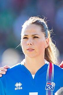 Sara Björk Gunnarsdóttir Icelandic footballer