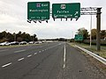 2018-11-01 17 12 27 View north along Virginia State Route 28 (Centreville Road) at the exit for U.S. Route 29 (Gainesville, Fairfax) in Centreville, Fairfax County, Virginia.jpg