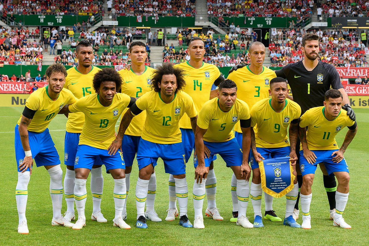 b7c5fa9057 Seleção Brasileira de Futebol - Wikiwand