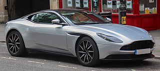 Grand tourer produced by Aston Martin as a successor to the DB9