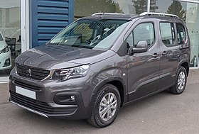 Image illustrative de l'article Peugeot Rifter et Partner III - Citroën Berlingo III - Opel Combo D - Toyota ProAce City