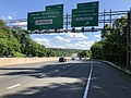 2019-05-27 16 29 01 View south along the outer loop of the Capital Beltway (Interstate 495) at Exit 41 (Carderock, Great Falls Md) on the edge of Cabin John and Potomac in Montgomery County, Maryland.jpg