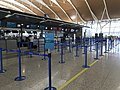 201908 Check-in Counters of Cathay Pacific and Cathay Dragon at PVG.jpg