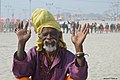 2019 Jan 16 - Prayagraj Kumbh Mela - Happy Baba.jpg