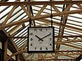2019 at Gleneagles station - platform clock.JPG