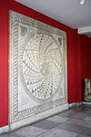 2041 - Archaeological Museum, Athens - Garden - Mosaic - Photo by Giovanni Dall'Orto, Nov 11 2009.jpg