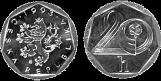 Czech koruna - Image: 20h CZK