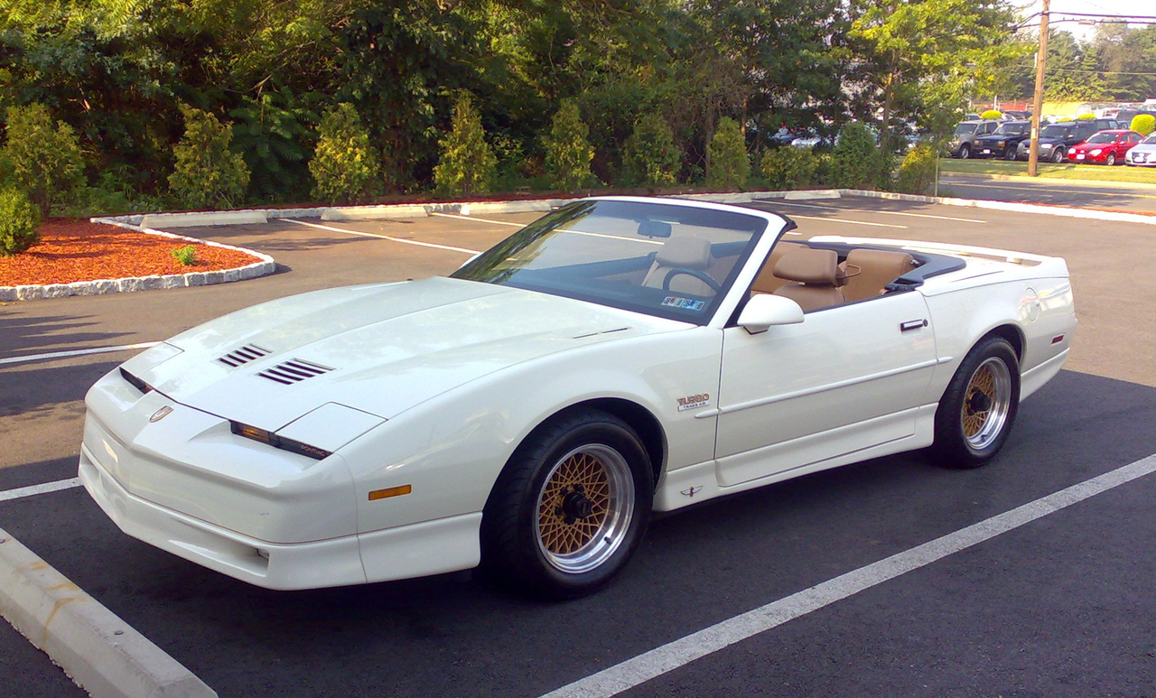 1989 Pontiac Trans Am Turbo For Sale >> File:20th Anniversary Turbo TransAm Convertible august 2009 9,000 original miles.png - Wikipedia