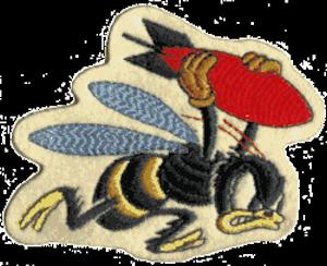 21st Bombardment Squadron - Emblem of the 21st Bombardment Squadron (1941-1943)