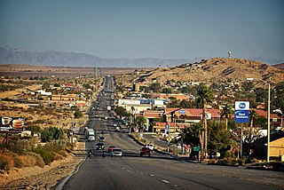 Twentynine Palms, California City in California, United States