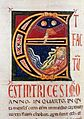 3 Marco Berlinghieri A page from the Bible (Codex №1) 1248-1250 Palazzo della Curia Arcivescovile, Lucca.jpg