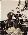 """3c241. Eva og Fridtjof Nansen ombord i yachten """"Otaria"""" (15766837823).jpg"""