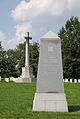 3rd Infantry Memorial - pylon and Canadian Cross - Arlington National Cemetery - 2011.JPG