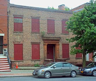 Arbor Hill Historic District–Ten Broeck Triangle - 41 Ten Broeck Street, 2012