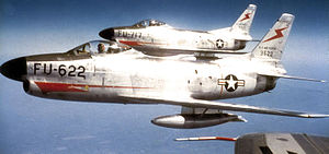 520th Air Defense Group - F-86D Sabres of the 520th Air Defense Group's 432d FIS, November 1953