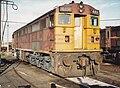 4491 in reverse livery broadmeadow loco 1990.jpg