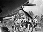 452 Squadron RAAF Spitfire pilots Strauss NT 1944 AWM NWA0709.jpg