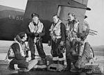 466 Squadron RAAF Halifax crew at Leconfield AWM UK0959.jpg