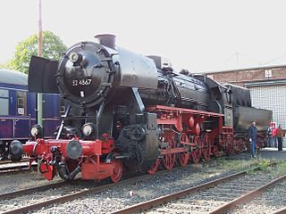DRB Class 52 class of c.6700 German 2-10-0 locomotives built and used across Europe