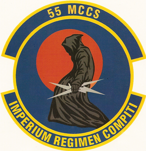 55th Mobile Command and Control Squadron - 55th Mobile Command and Control Squadron emblem