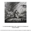 58 Mark's Gospel U. Gethsemane image 1 of 3. Christ in Gethsemane. Schellenberg.png