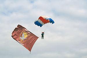 63rd Parachute Battalion - Parachuter.