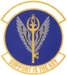 6 Mission Support Sq (later 6 Force Support Sq) emblem.png