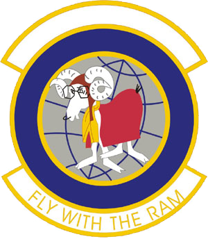 Grenier Air Force Base - Image: 732d Airlift Squadron Emblem