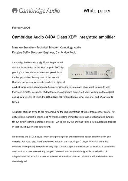 File:840A Class Xd Amplifier White Paper.Pdf - Wikimedia Commons
