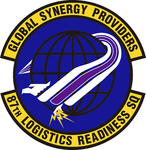 87 Logistics Readiness Sq emblem.png